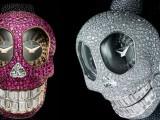 Il tempo? de Grisogono lo misura con Crazy Skull, l'orologio tempestato di diamanti