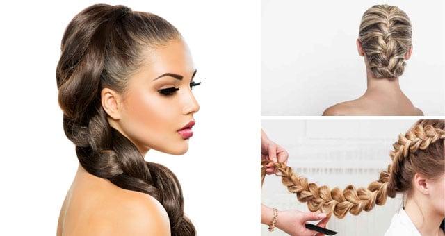 Speciale trecce tutto su come intrecciare i capelli ad - Diversi tipi di trecce ...