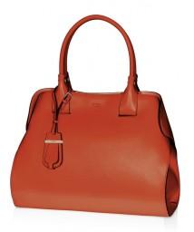 Tod's-Cape-Bag_Medium_Orange-Leather