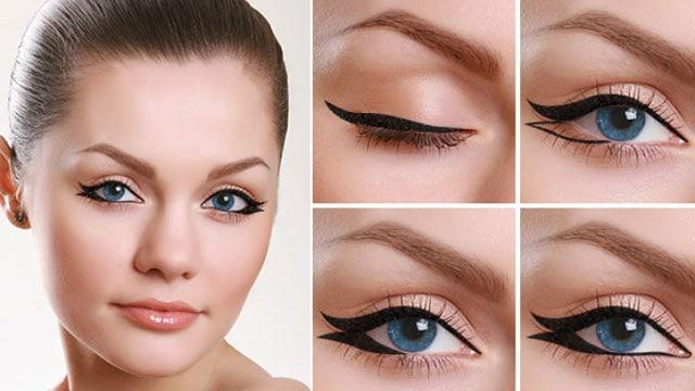 come fare l'eyeliner a doppia coda