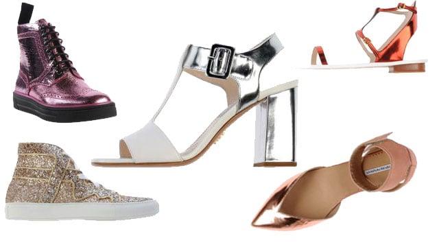 scarpe metalliche mania
