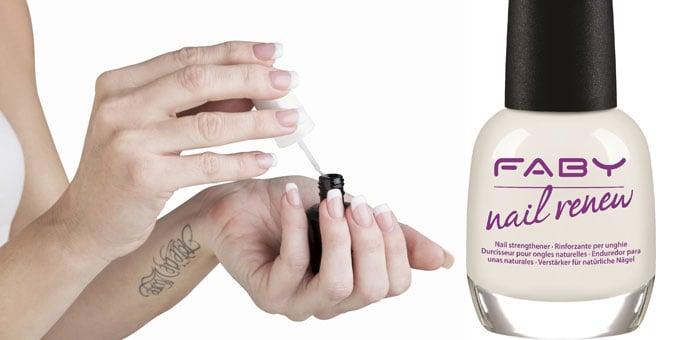 FABY NAIL RENEW, il primo trattamento anti-età per unghie