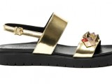 Alberto Guardiani SS2015 sandalo Jodie vitello laminato