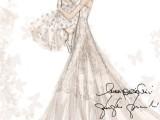 L'abito da sposa di Frida Giannini