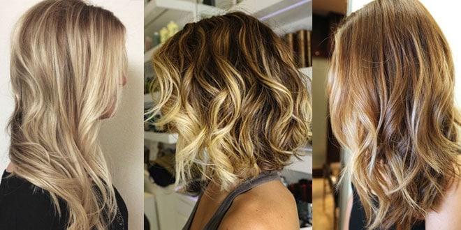 Effetti moda colore capelli