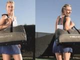 Chi meglio di una campionessa come Maria può progettare una borsa da tennis?