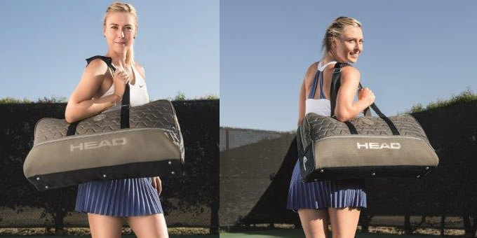 HEAD e Maria Sharapova: La borsa da Tennis