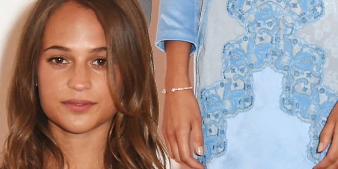 Alicia Vikander per Louis Vuitton