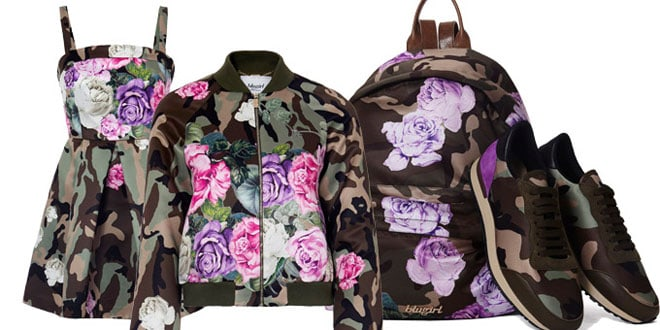 Blugirl Romantic Camouflage