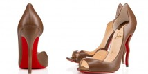Christian Louboutin Deepik shoe nude collection
