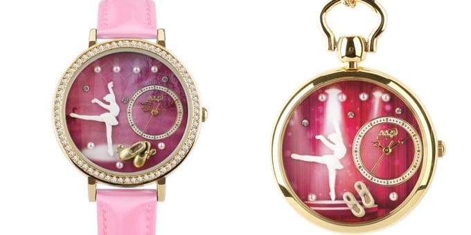 """Didofà svela il nuovo orologio, """"in punta di piedi"""""""