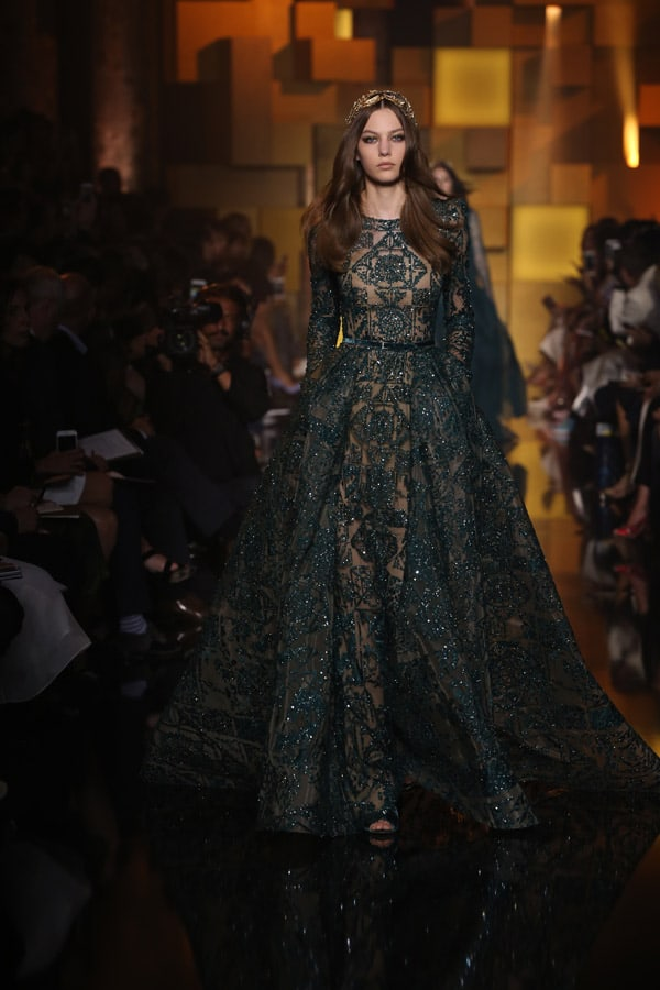 Parigi Haute Couture: Elie Saab - f/w 2015/16