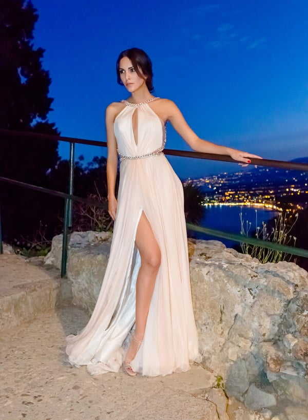Rocío Muñoz Morales in Angelozzi Couture