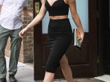 Jennifer Lawrence out and about wearing the DULSA sandal