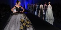 Lo stilista cinese Laurence Xu sfila a Milano