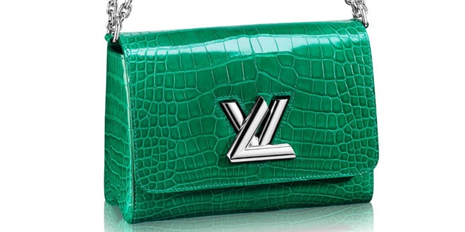 Pochette coccodrillo Louis Vuitton