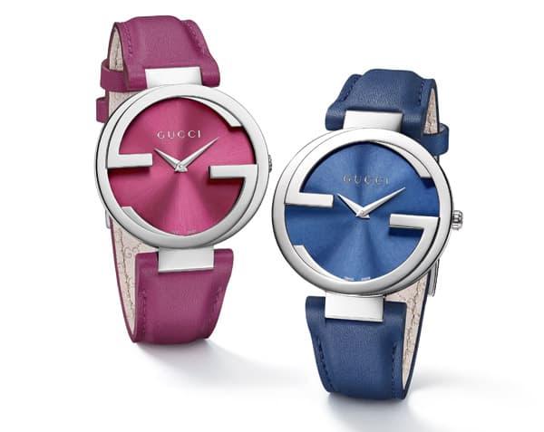Gli orologi Interlocking di Gucci -ss 2015