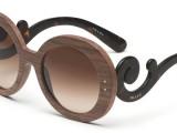 Accessori: protagonista il legno, da Prada a Dolce&Gabbana