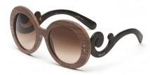 prada legno eyewear