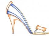 Luca Luongo bozzetto scarpa