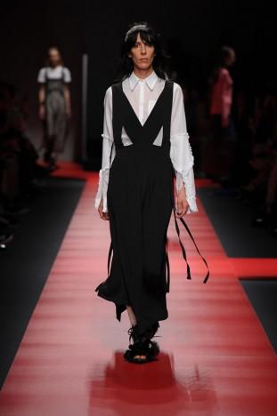 Sfilata Milano Donna N°21 Alessandro Dell'Acqua settembre 2015