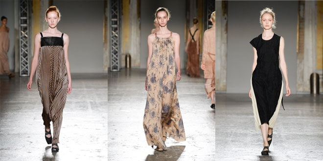 Sfilata Uma Wang SS16 Milano Fashion Week