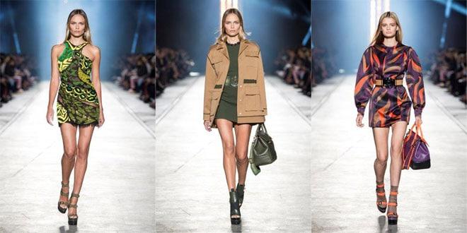 Sfilata Versace SS 2016 moda donna Milano settembre 2015 d7fe01178f6
