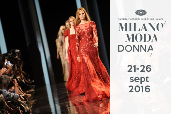 calendario sfilate milano moda donna settembre 2016