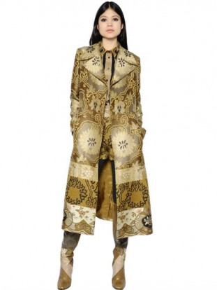 Trench donna Etro IN BROCCATO PATCHWORK