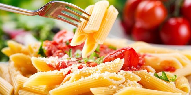 piatto di pasta (carboidrati)