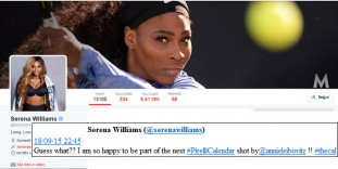 Serena Williams twitter