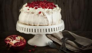 La torta al melograno