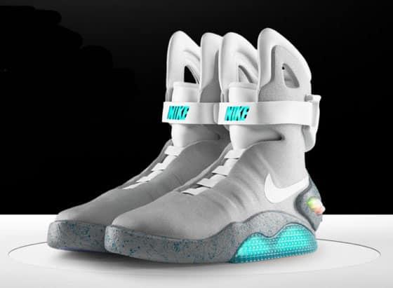 Nike Mag, le scarpe di Ritorno al Futuro
