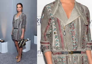 Alicia Vikander in Louis per i Vuitton