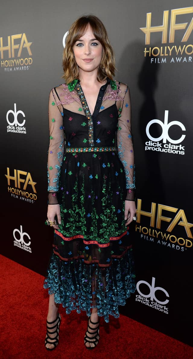 Gucci Celebrities Alert: Dakota Johnson in Gucci