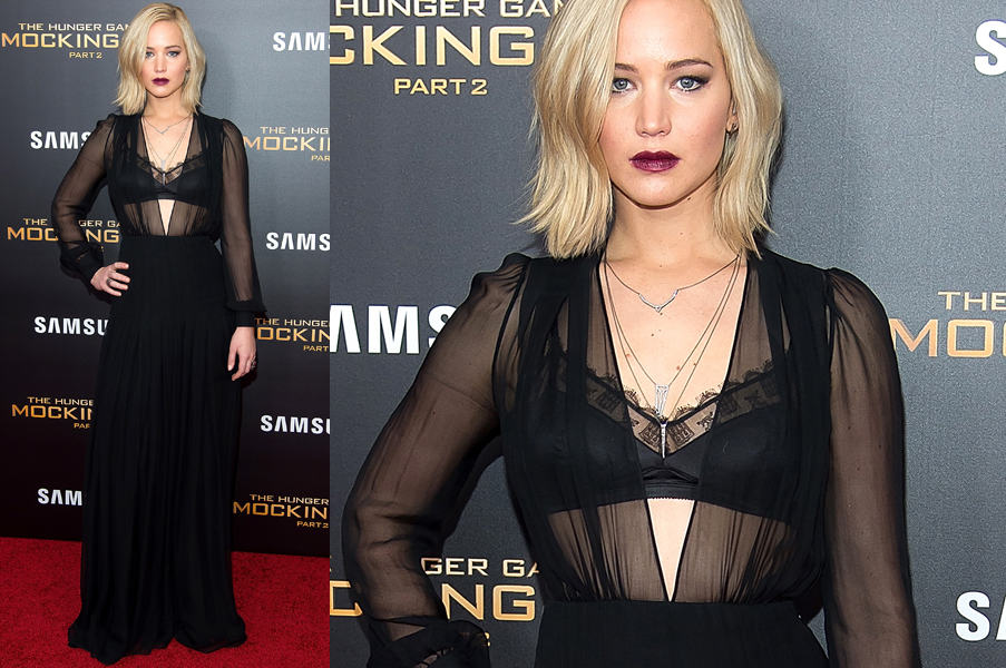 Jennifer Lawrence in Schiaparelli Haute Couture