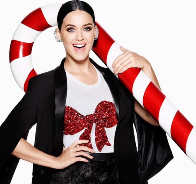 Katy Perry per H&M Holiday Collection 2015