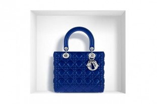 Lady Dior Bag Bleu