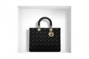 Lady Dior large black