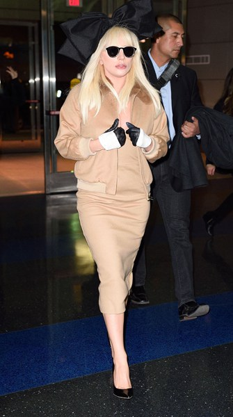 Max Mara per Lady Gaga a New York