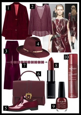 outfit marsala autunno 2015