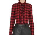 Red Valentino camicia flanella