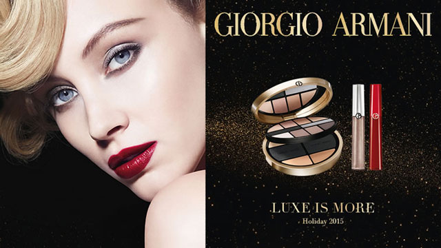 Giorgio Armani Lux is More make up