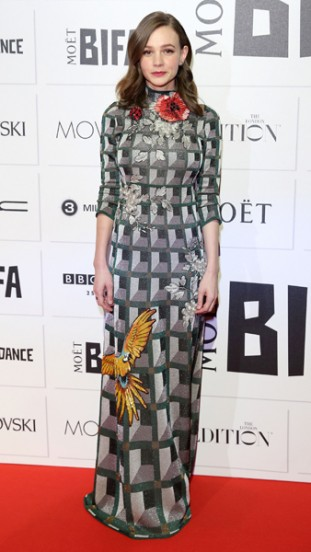 Carey Mulligan in Gucci