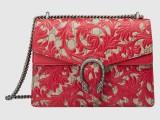 Clutch Gucci Arabesque red