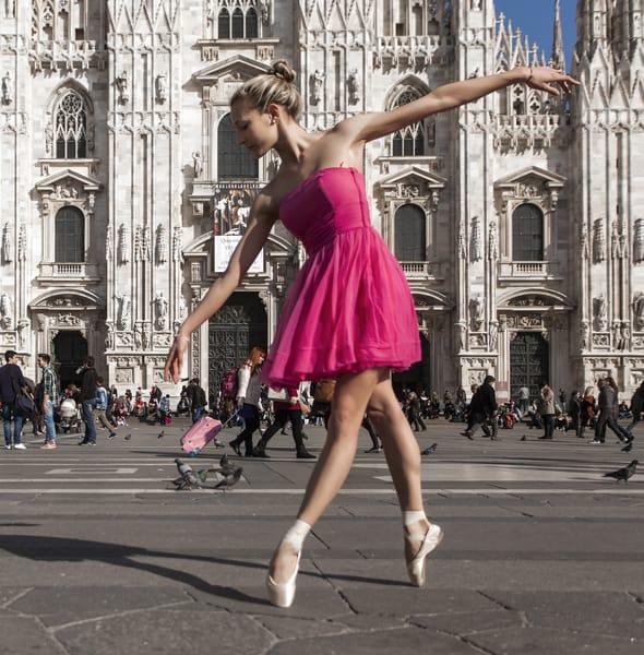 Ballerina a Milano
