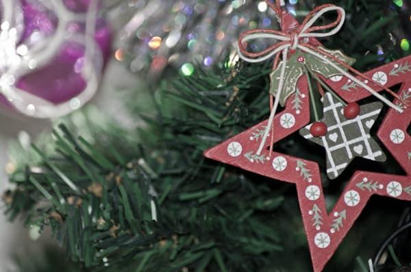 Gli addobbi natalizi