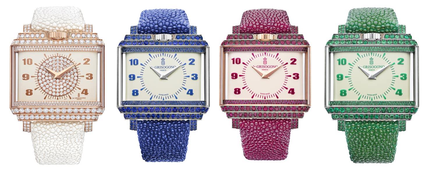 """Il nuovo orologio di De Grisogono, """"New Retro Lady"""""""
