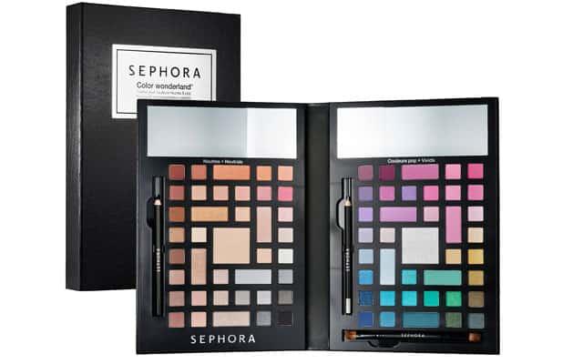 Sephora palette make up Wonderland