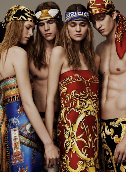 Versace Silk Collection